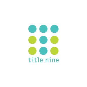 Title nine logo partner